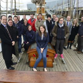 OYT Scotland & Prince's Trust aboard Spirit