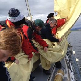 Handing Sails