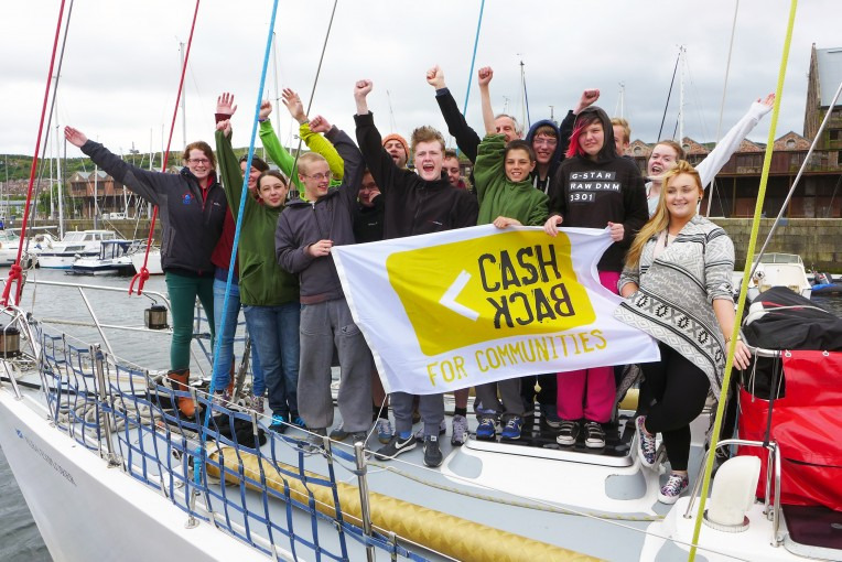 Group Shot North Ayrshire_CashBack