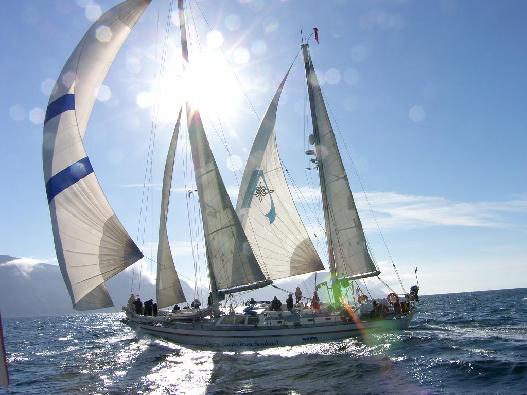 Alba Volunteer | Volunteer Ocean Youth Trust Scotland