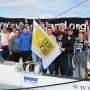 The group from Drumchapel at the end of their voyage.