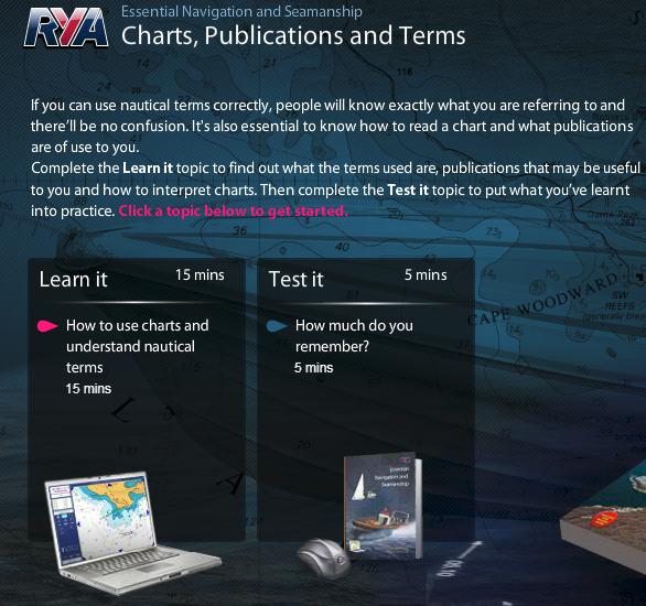 RYA Essential Navigation and Seamanship (Online)