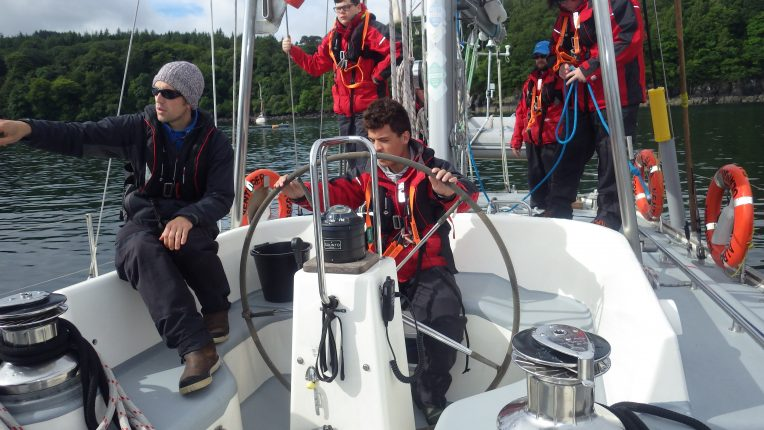 At the helm (13)